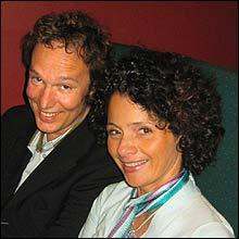 Claus Wiese og Nadia Hasnaoui (Foto: Frøydis Haug)