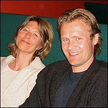 Cille Biermann og Erik Wold (Foto: Frøydis Haug)