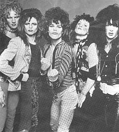 New York Dolls gjenforenes. Foto: Mercury.