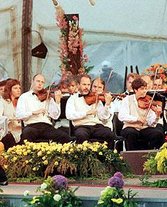Oslo Filharmoniske Orkester skal markedsføre seg selv på kino. Foto: Jan Greve, SCANPIX.