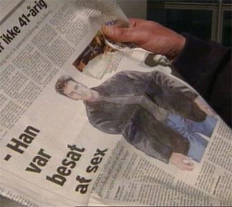Faksimile fra dansk avis