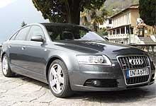 Audi A6, også en favoritt. (Foto: Bjørnar Fjeldvær)