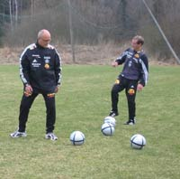 Spissene på Ham-Kam er fornøyd med å ha På som trener.
