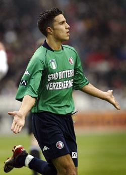Robin van Persie i Feyenoord-drakten (Foto: Reuters)