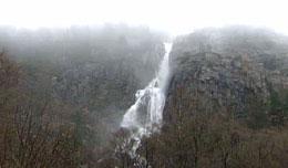 Den vakre naturen frister David Russell til å lage film i Rogaland. (Foto: Helge Hundeide)