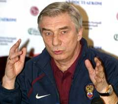 Landslagssjef Georgij Jartsev slaktes i russiske aviser. (Foto: AFP/Scanpix)