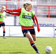 Heidi Pedersen har imponert så langt i år. (Foto: Heiko Junge/SCANPIX)
