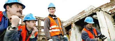 Polske bygningsarbeidere kommer til Møre og Romsdal. (Illustrasjonsfoto: Scanpix)