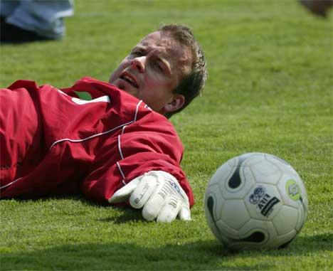 Thomas Myhre har fått en meget god kontrakt med Premier League-klubben Charlton. (Foto: Lise Åserud / SCANPIX )