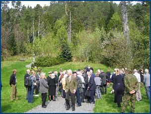 Glasgowveteranene fikk se Molde og blant anne Glomstua med Kongebjørka.