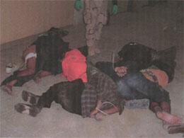 Mishandling av Irak-fanger i Abu Graib-fengselet nær Bagdad. (Foto: New Yorker/AP/Scanpix)