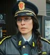 Politiinspektør Merete Hessen