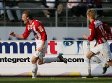 Årst og Gamst er to av spillerne som utgjør en god offensiv drivkraft i Tromsø, mener Jan Åge. (Foto: Erlend Aas/Scanpix)