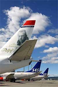 Norwegian setter opp prisene på flybilletter i Sør-Norge.