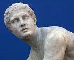 Klassisk gresk statue.