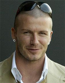David Beckham regnes som den ur-metroseksuelle mannen Foto: Reuters/Kieran Daherty