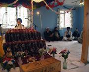 Sikher i Lier samlet til bønn.