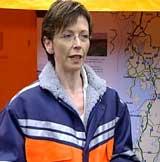 Samferdsleminister Torild Skogsholm (V) avviser at det er umiddelbare planer om nedlegging av Røros- og Raumabana.