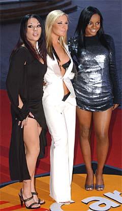 Damene i Sugababes har skrevet en ny låt til Winta. Foto: Richard Lewis, AP Photo.