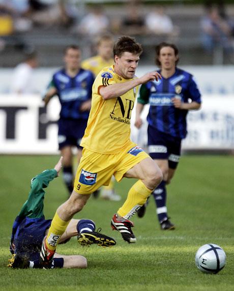 Åsmund Bjørkan var dgens spiller på Bodø/Glimt (Foto; Scanoix)