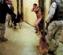 Et av de siste bildene som er offentliggjort fra Abu Ghraib-fengselet. Bildet er tatt i desember i fjor. (Foto: Scanpix / AP)