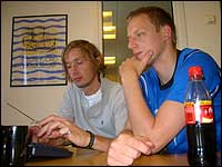 Anders Stadheim og Tommy Øren skåra i sesongpremieren