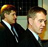 Børre Simonsen (t.h.) og Tor J. Strand. Foto: Fremover.