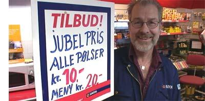 Harald Solheim får fortsette å selge pølser.