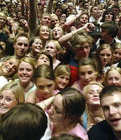 Britney Spears-konserten i Oslo Spektrum var utsolgt. Foto: Håkon Mosvold Larsen, Scanpix.