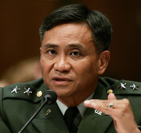 General Antonio M. Taguba har gransket mishandlingen av irakiske fanger. Foto: Larry Downing, Reuters/Scanpix.