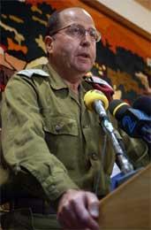 Israel vil ikke forhandle for å få levningene utlevert, sier Yaalon (Scanpix/AP)