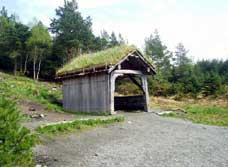 En av de nye rasteplassene på Smøråsfjellet. Foto: NRK