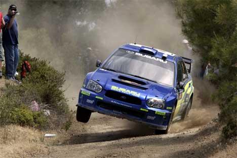 Petter Solberg kan rykke opp til en 4. plass i Rally Kyrpos.( Foto: www.swrt.com )