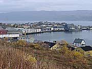 Vakre Finnmark i stille vær - Båtsfjord