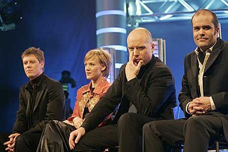 Idol-juryen kunne bare skryte av begge artistene. Foto: Gunnar Lier, Scanpix.