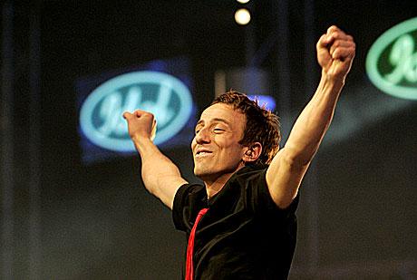 Drømmen om å vinne Idol, slik som Kjartan, har tatt helt av i Bergen