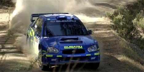 Petter Solberg i Rally Kypros (AP Photo/Andreas Constantinou)
