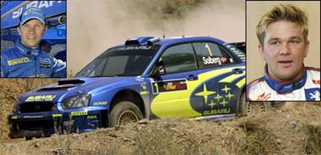 Petter og Henning Solberg (foto:SCANPIX/ Heiko Junge, swrt.com)