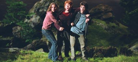 Harry Potter og vennene hans møter nye utfordringer i en mørkere film. (Foto: Warner Bros./Sandrew Metronome)
