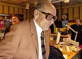 Ønskekonserten runder 50 år. Tidligere programleder Per Øyvind Heradstveit var med på å markere jubileet på NRK Radio. Foto: Scanpix