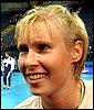 Heidi Tjugum var eneste norske spiller som ikke kom på banen etter skaden hun fikk tidligere i uken.