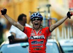 Emanuele Sella vant 11. etappe i Giro. (Foto: Reuters/Scanpix)