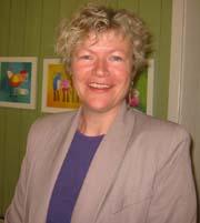 Barnehagekonsulent i Kongsberg, Kaja Borge Nicolaysen.