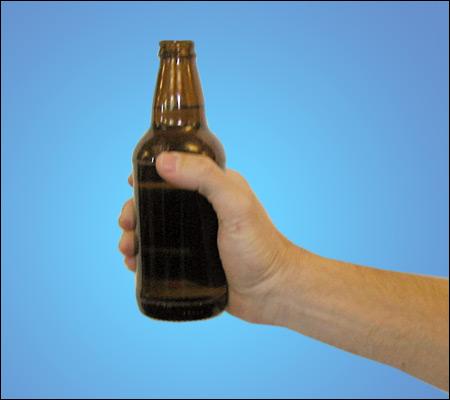 """Etter å ha tatt i bruk alvorlige virkemidler som """"flasketuten peker på"""" ble partene endelig enige - og streiken avblåst!"""