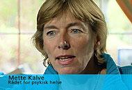 - Dette er en kjent metode. Vi kaller det kreativ regnskapsførsel, sier Mette Kalve. Hun sitter i styret i Rådet for psykisk helse. Foto: NRK Puls