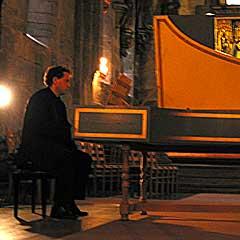 Richard Egarr på Festspillene 2004. Foto: Håkon Heggstad, NRK.