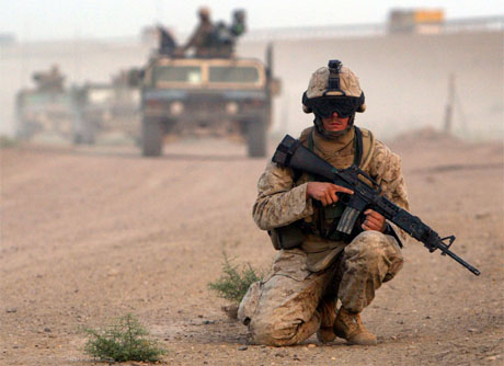 US Marines i Irak. (Arkivfoto: Reuters/Scanpix)