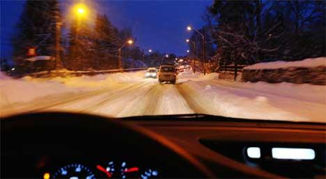Mye snø har lavet ned i Østfold fra onsdag denne uka, og mer skal det komme. Foto: Cornelius Poppe / SCANPIX