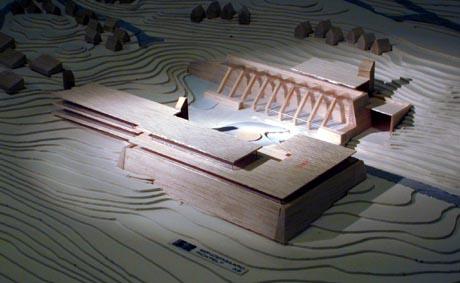 Modell: Søndergaard Rickfelt AS arkitekt