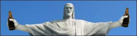 Jesus gjør vann til øl, innsendt av Erik E.